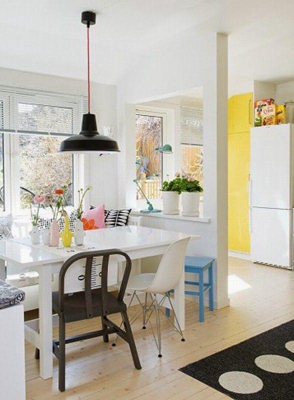 Украшения помогут дополнить интерьер кухни.