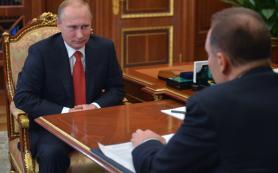 Владимир Путин призвал избавляться от коррупции в строительстве