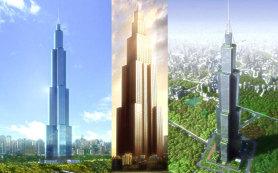 Китай намерен построить самое высокое здание в мире за 7 месяцев