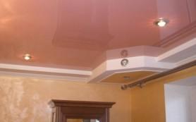 Натяжной потолок — красиво и практично