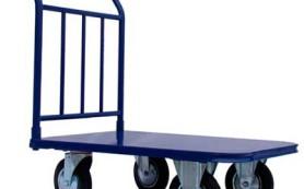 Специализированные платформенные складские тележки
