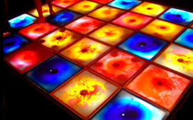 Жидкая плитка-основа креативного дизайна