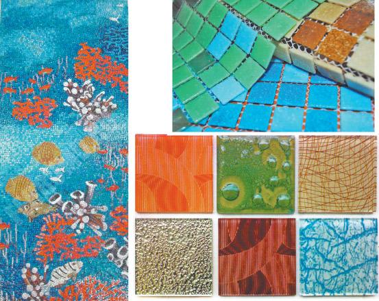 Мозаика. Широкий выбор