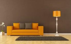 Оранжевый в интерьере: спокойствие и активность