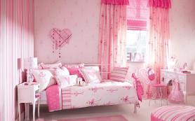Романтика розового цвета в интерьере