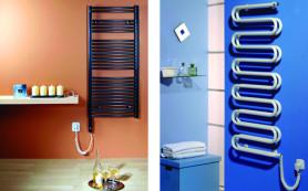 Полотенцесушитель для ванной: виды, материалы, установка