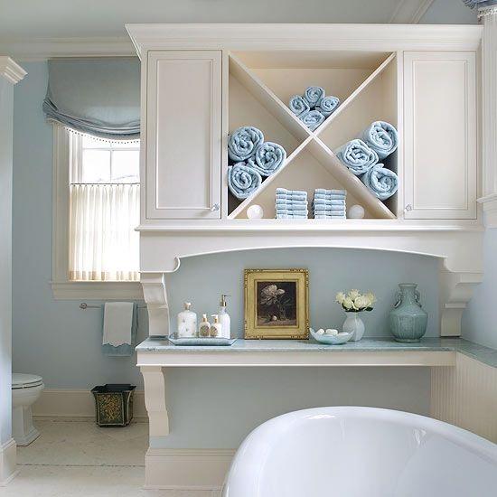 Полотенца как декор для ванной: 5 идей