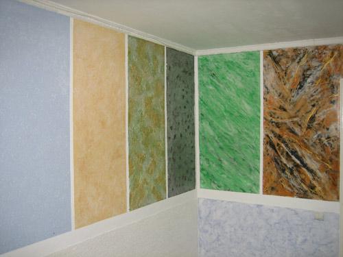 Современные отделочные материалы для стен