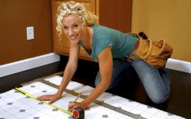 Как выбирается виниловая плитка для пола