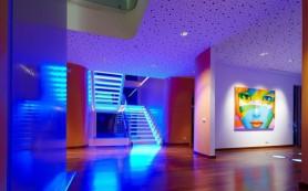 Скрытая светодиодная подсветка в интерьере