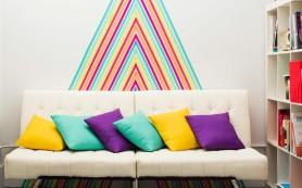 2 невероятные идеи декора с помощью цветного скотча