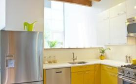 Интерьер кухни в желтом цвете: солнечный луч у вас дома