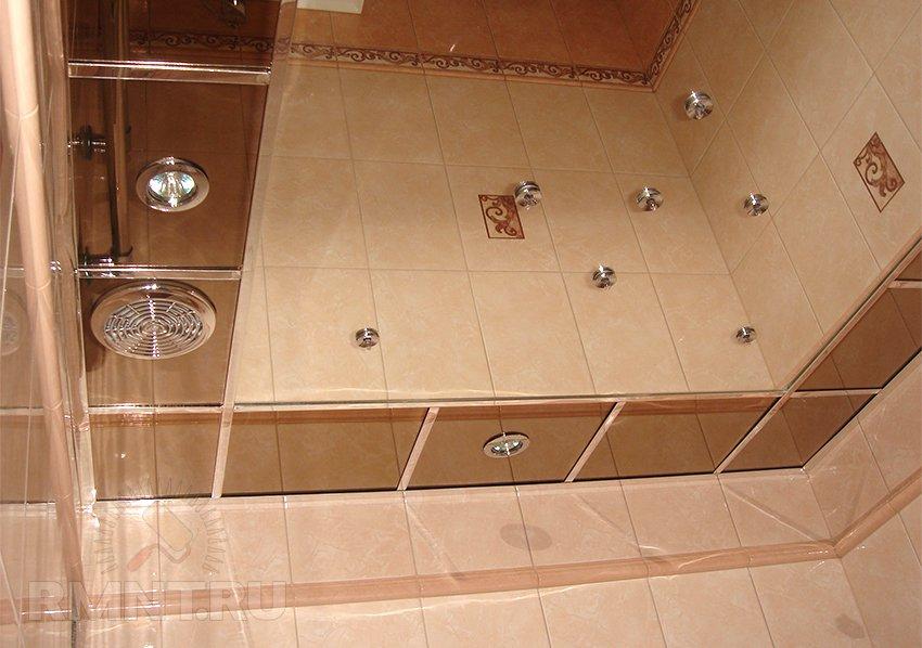 Зеркальный потолок. Выбор конструкции, особенности монтажа