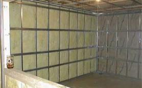 Звукоизоляция стен: базальтовая вата