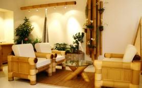 Создание природного интерьера в квартире своими руками.