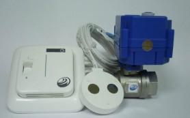 Электронная защита от протечки воды