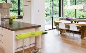 Кухня с эркером: тренд для загородного строительства