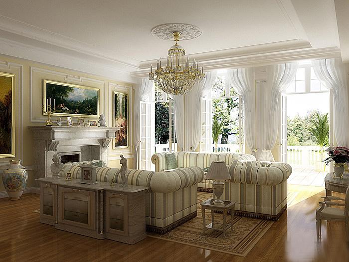 Дизайн квартиры в античном стиле