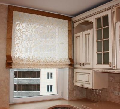 Как сшить римские шторы