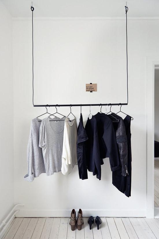 Как обойтись без шкафов в прихожей