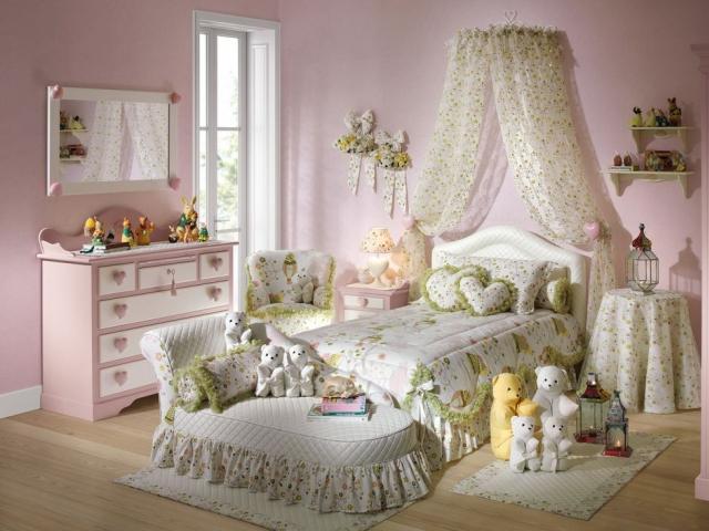 Идеи оформления спальни для девочки