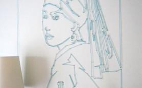 Стринг арт, или настоящее искусство из ниток и гвоздей