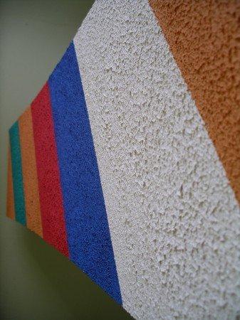 Свойства фактурной краски