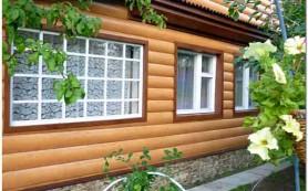 Сайдинг блок-хаус под бревно металлический и пластиковый: основные отличия и особенности монтажа панелей