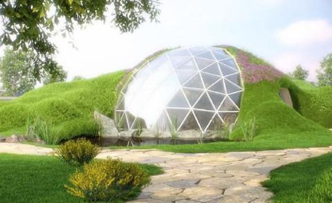 Купольный дом – проект архитектуры будущего