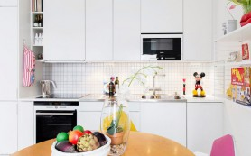 Белая кухня: все за и против