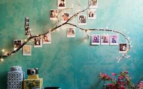 Генеалогическое дерево в интерьере