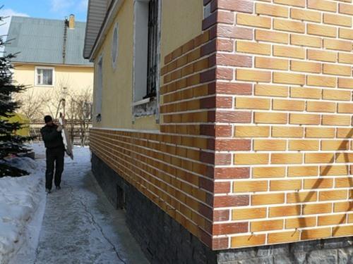 Фасадные термопанели из клинкерной плитки