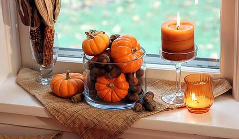 Осенний декор для квартиры