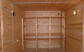 Способы и выбор материалов для отделки гаража внутри