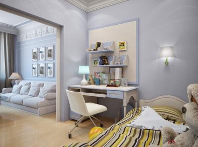Дизайн комнаты с детской