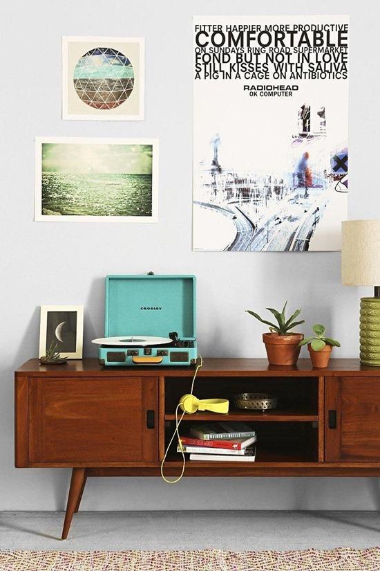 Дизайн интерьера в стиле 60-хх