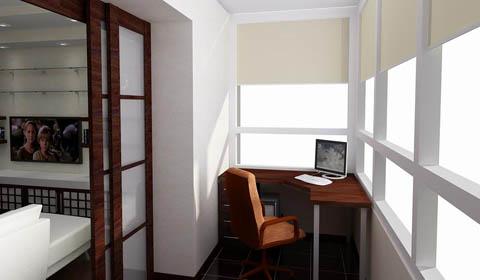 Материалы для отделки лоджии и балкона