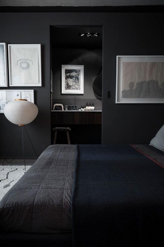 Черный цвет в дизайне интерьера квартиры