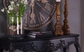 Часы как декор в интерьере