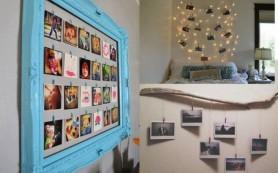 Идеи, как украсить свой дом фотографиями