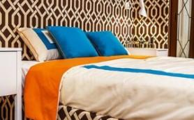 Проект недели: Спальня в шоколадно-сливочных тонах