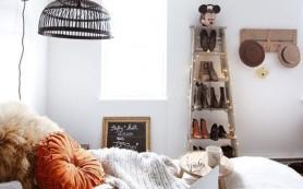 Лестница-стремянка, как декор и мебель