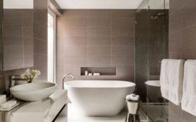 Как оборудовать большую ванную комнату
