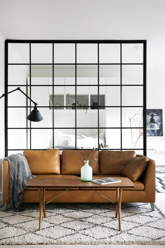 Межкомнатное окно в интерьере