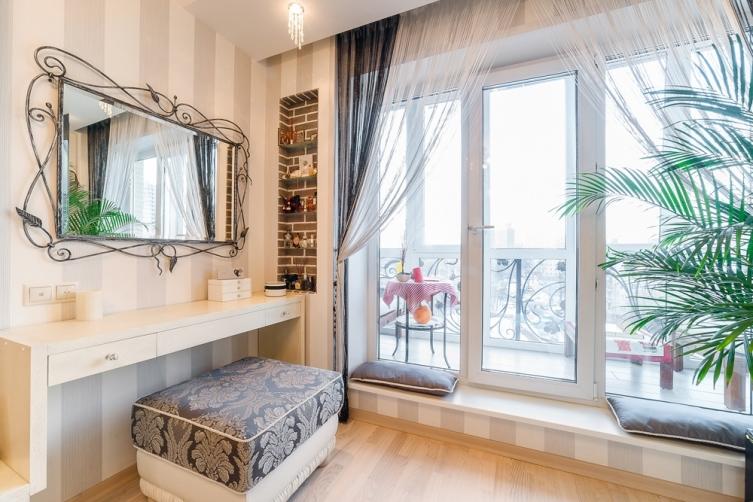 Как увеличить площадь квартиры за счет балкона?