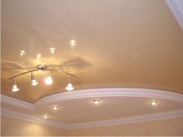 Потолок в квартире. Как сделать его нестандартным?