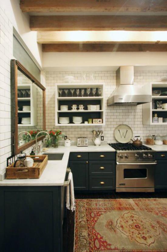 Зеркало в интерьере… кухни