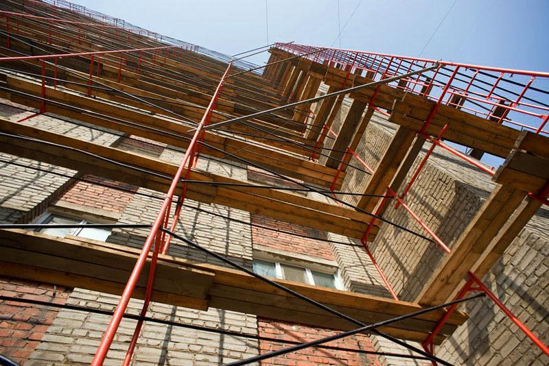 Компания Плеттак – аренда строительных лесов в украинской столице по лояльным ценам
