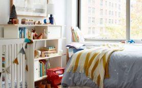 Как организовать место для ребенка в родительской спальне