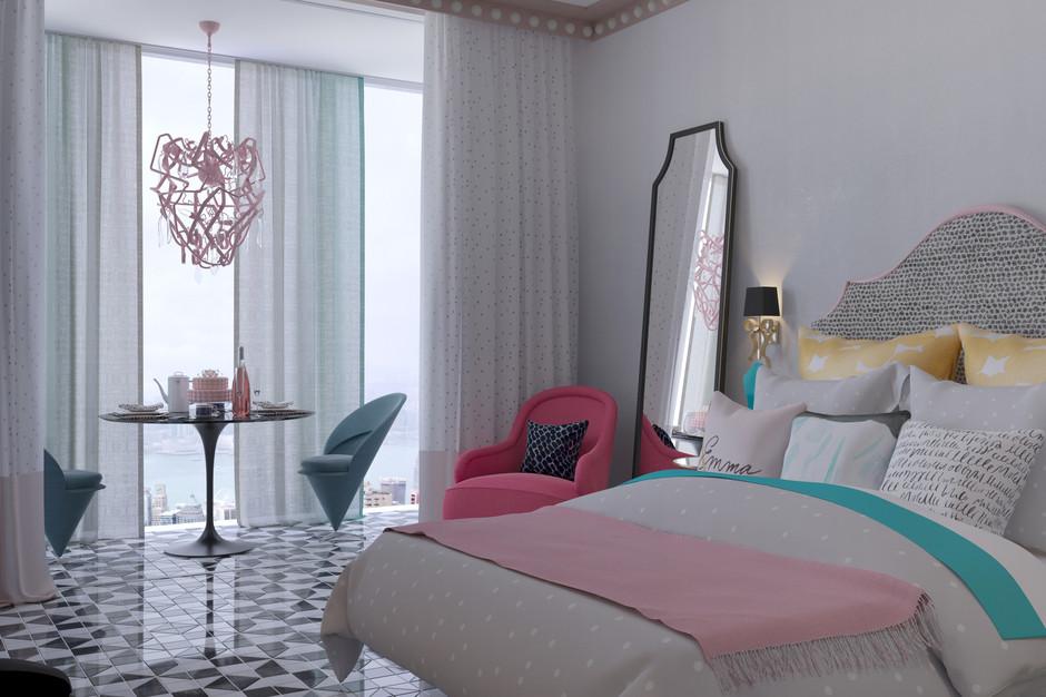 Как оформить небольшую «девичью» квартиру-студию